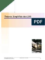Theorie Simplifiee Des LRS