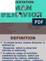 human behavior.pptx