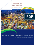 Diploma Programme - Training & Certification - Supply Chain Management