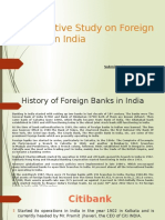 A Selective Study on Foreign Banks in India