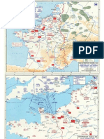 Mapas World War II in Western Europe