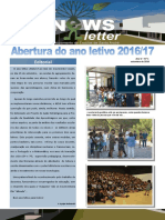 Newsletter Setembro 2016