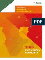 REN21 EAC Renewable Energy Report  2016