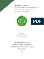 Resume Bahasa Indonesia