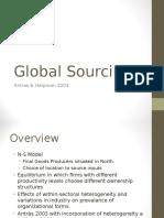 Global Sourcing Jay Patani
