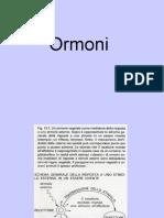 fisiologia - ormoni