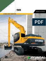 Hyundai R220LC-9A Brochure