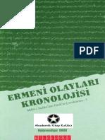 Hüdevandigar Onur - Ermeni Olayları Kronolojisi.