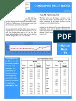 Consumer Price Index - Jul 16