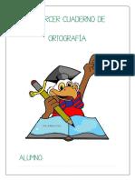 Cuaderno de Ortografía 3