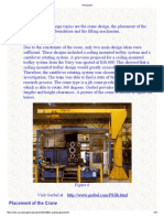 Crane Analysis and Design
