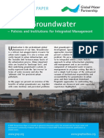 05 Urban Groundwater - Policies and Institutions for Integrated Management