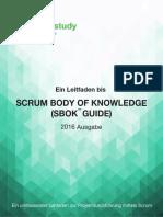 SCRUMstudy SBOK Guide 2016 German