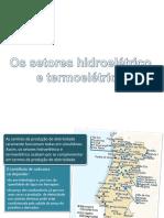 9 Setores Hidroelétrico e Termoelétrico