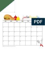 June 2010 Free Calendar