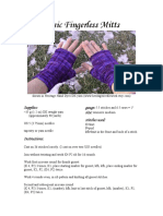 Basic Fingerless Mitts