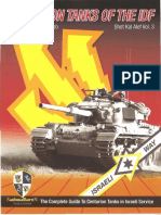 Centurion Tanks of the IDF Volume Three