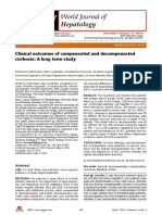 Clinical Outcomes of Compensated and Decompensated WJH 2014