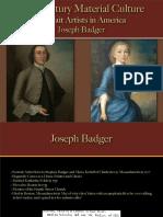 Portrait Artists - Badger