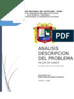 Analisis y descripcion del problema