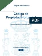 BOE-015 Codigo de Propiedad Horizontal