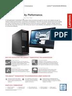 ThinkStation P510 Datasheet 17 Jun 2016
