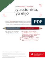 Dividendos Santander Octubre 2016
