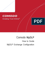 Comodo MyDLP Exchange Configuration