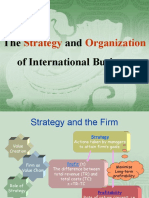 VI. Strategy and Organization