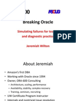 Breaking Oracle