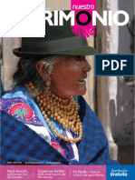 Revista 25 Patrimonio Ecuador