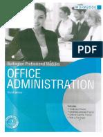 office administration burlington student book pdf gratis