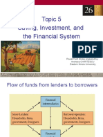 -t5. Saving, Investment, And the Financial System