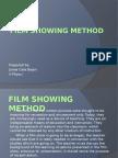 film showing method edited.pptx