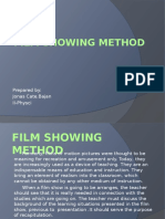 film showing method edited.pptx