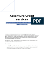 Accenture Credit Services