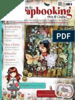 Guia Do Scrapbooking Arts & Crafts - Edição 32 (2016)