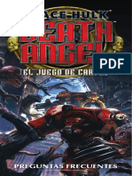 FAQS del juego Space Hulk Death Angel