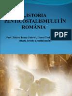 Prezentare Istoria Penticostalismului În România