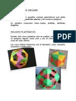 Poliedros en Origami