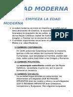 Resumen Tema 3 La Edad Moderna