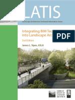 Integrating BIM Technology into Landscape Architecture