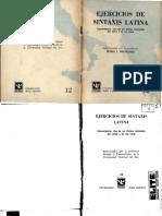 Ejercicios de Sintaxis Latina - 12