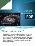 Universe by Sanchit Kabra