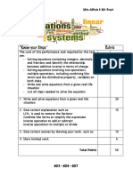 know-your-steps-rubric