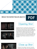 would you rather trailer analysis