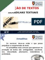 A Produção Textual, Armadilhas Do Texto
