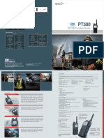 PT580 TETRA Portable Brochure