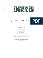 Underground Residential Distribution Systems Demo