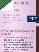 Presentación de Informe Financiero